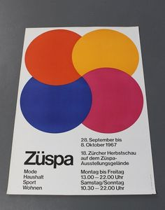 All sizes | Züspa | Flickr - Photo Sharing! #international #typographic #grid #system #poster #style