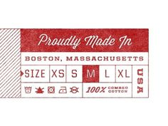 Dribbble - Clothing Tag by Kyle Anthony Miller #miller #kyle #anthony