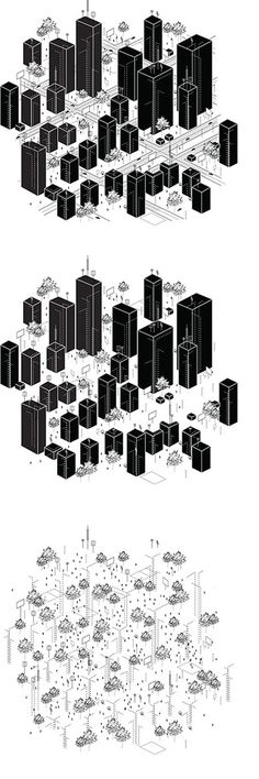 The Field / Microcities #architecture #drawing