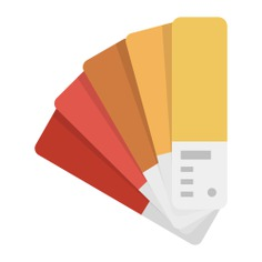 See more icon inspiration related to paint, colors, color palette, pantone, painter, miscellaneous, paints, art and design and edit tools on Flaticon.