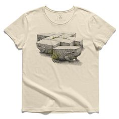 #tegelpadden #beige #tee #tshirt #stevebest #frog #cobblestone #redmerhoekstra #drawing #charcoal #evolve