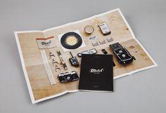 Motel booklet #pamphlet #print #booklet #branding