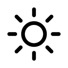 See more icon inspiration related to sun, light, weather, star, brightness and illumination on Flaticon.