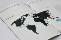 Conservation Report 2012 #information #graphics #type #world #design #grid #info #rules #blue #typography