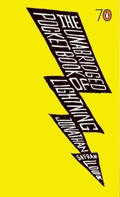 The Book Cover Archive: The Unabridged Pocketbook of Lightning, design by Ruslana Lyzchicko