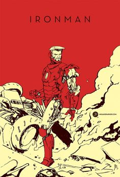 Spectacular Avengers Iron Man #iron #avengers #illustration #minimal #man