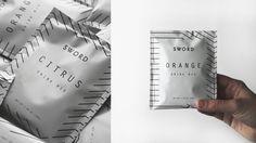 Sword Drink Mix #Singles #Packet # Packaging #Lines #Pattern