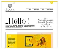 All sizes | La Moulade | Flickr - Photo Sharing! #yellow #bw #design #web