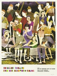 GigPosters.com - Edward Sharpe And The Magnetic Zeros - Hes My Brother Shes My Sister #poster