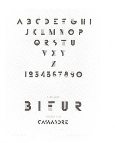 Words & Eggs - Posts - French Friday: The Poster Designs of A.M.Cassandre #bifur #cassandre #typeface #am