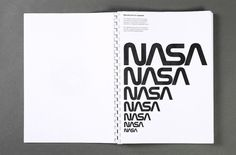 All sizes | NASA 1976 guidelines | Flickr - Photo Sharing! #branding #nasa #guidelines #book #brand #identity