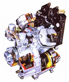 Google Reader (1000+) #diagram #motorcycle #engine