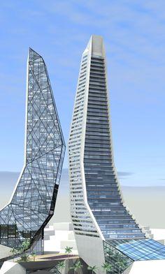 Skyscrapers by Beka @ Steep