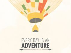 Dribbble adventure #adventure #hot #airballon