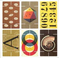 Eames house of cards #design #cards #eames