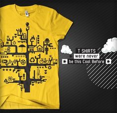 T Shirts were never be this Cool Before!!! on the Behance Network