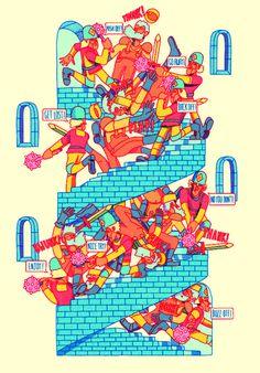 Rob Pybus | PICDIT #illustration #design #artist #art