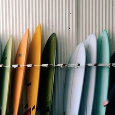all the colours #ocean #surf #color #boards #colour #waves