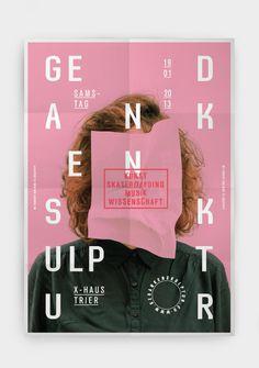 Dominik Bubel Gedankenskulptur #poster