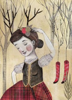 Evelyn Daviddi | Pencil Ilustradores #illustration #pencil #art