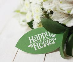 Happy Flower Business Card