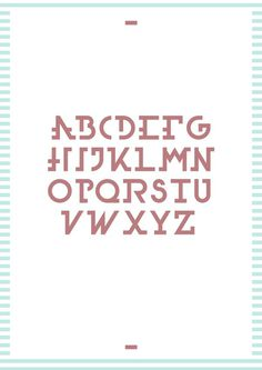 Texta Font #font #vector #red #serif #print #vintage #poster #blue #typography