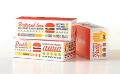 MyBurger. Designed by Fame. @enviromeant.com #packaging #icons #food #restaurant #fast