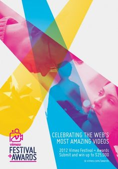 2012 Vimeo Festival + Awards #print #design #poster #graphic #vimeo
