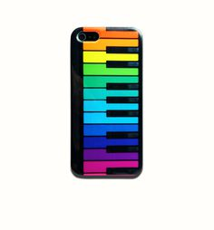 Rainbow Piano Keys iPhone #phonecase #design