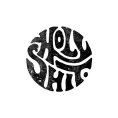HolyShitby Daren Newman. #typography #illustration