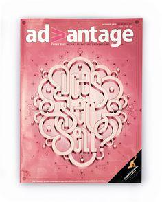 Advantage Magazine Cover on Behance