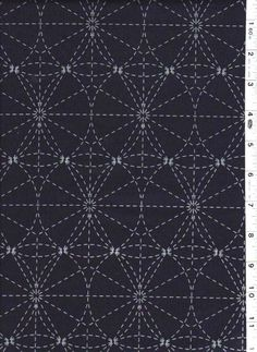 http://www.shiboridragon.com/Sashiko/Fabric/Sashiko-Circles.jpg #fabric #pattern #circles #sashiko