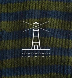 still shivering #wool #lighthouse #waves