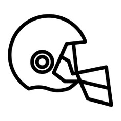 See more icon inspiration related to helmet, sports and competition, rugby protector, head protector, rugby helmet, protector, rugby, fashion and sports on Flaticon.