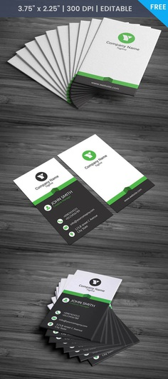 Free Financial Officer Business Card Template