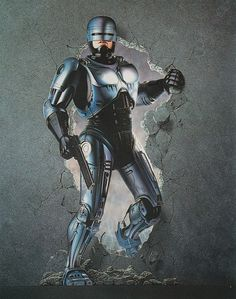 robocop #movie #police #nostalgia #robocop #illustration #vintage #future