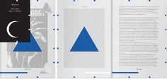Olaf #booklet #geometric #typography