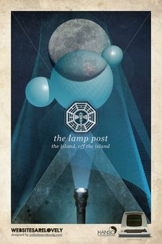 The Lamp Post | Flickr: Intercambio de fotos #movie #design #graphic #hanso #initiative #dharma #vintage #poster #collage #lost