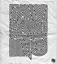 Luke Lucas – Typographer | Graphic Designer | Art Director #typography #luke lucas
