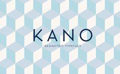 Kano Geometric Free Font - Designr Kit