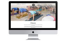 Freestyle Yoga Project website design and development, by Redspa http://redspa.uk