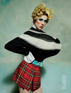 Portrait Of a Lady: New Fashion Series by Tim Walker