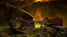 Dark World Of Machines By Slovakian Photographer Peter Majkut | Bored Panda #photography #machine