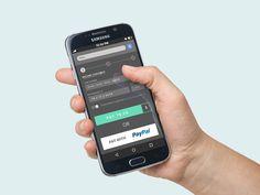 Mobile Payment UI PSD