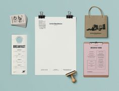 Branding and collateral for Artist Residence #hotel