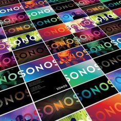 Bruce Mau Design | Sonos #logo #graphic design #branding #sonos