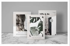 3 Post Card Flyer Mockup