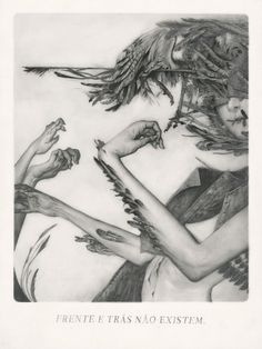 SACRE II - MIGRATION - _____ JOAO RUAS - FERAL-KID.COM #joao #illustration #graphite #ruas