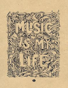 Music is my life by ~MrSithZam