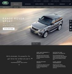 landrover.com range rover sport desktop #web